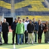 Photo of UMAP clients touring the U-M stadium