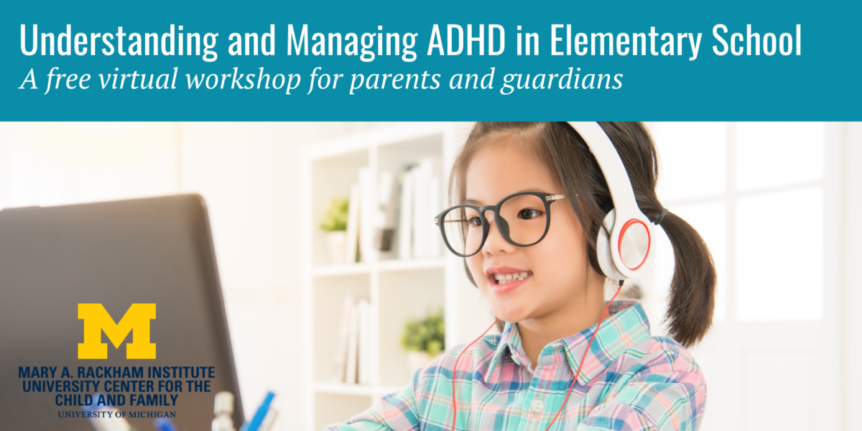 ADHD Workshop Elementary March 2021