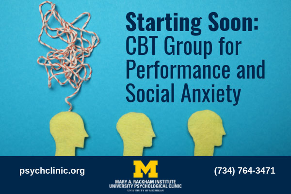 Fall 2019 CBT for Social Anx Group