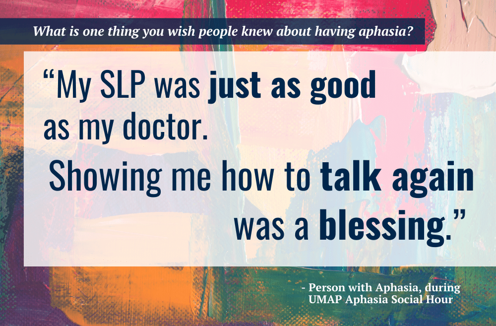 SLP Just as Doctor Quote Card