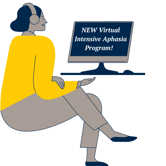 U-M Aphasia Program Virtual Intensive Program Announcement