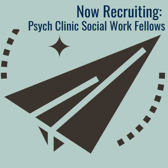 Psych Clinic MSW Fellowship 2020