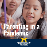 Parenting through the pandemic one year in