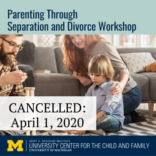 April 2020 parenting workshop cancelled