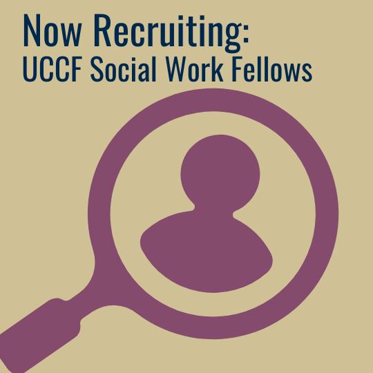 UCCF Social Work Fellowship 2021