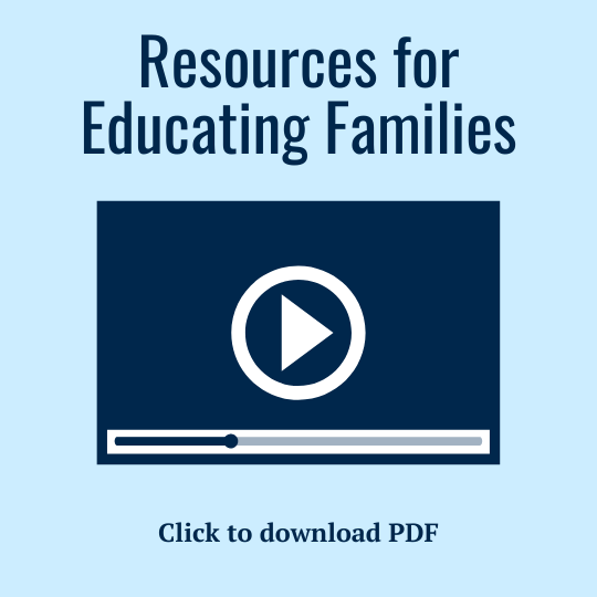 Resources for educating families about aphasia PDF