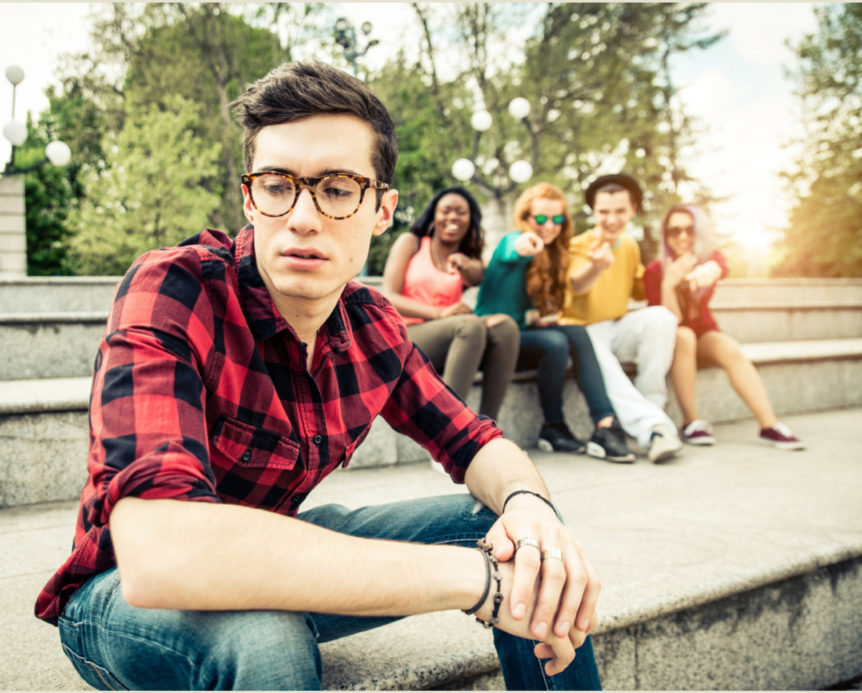 Reducing social anxiety group isolation image