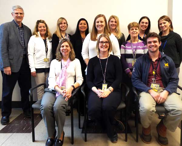 U-M Aphasia Program staff