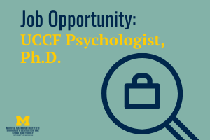 UCCF Hiring Full-Time Psychologist