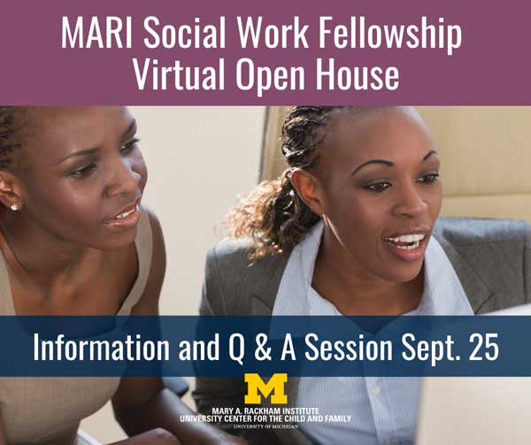 MARI Social Work Fellowship Open House
