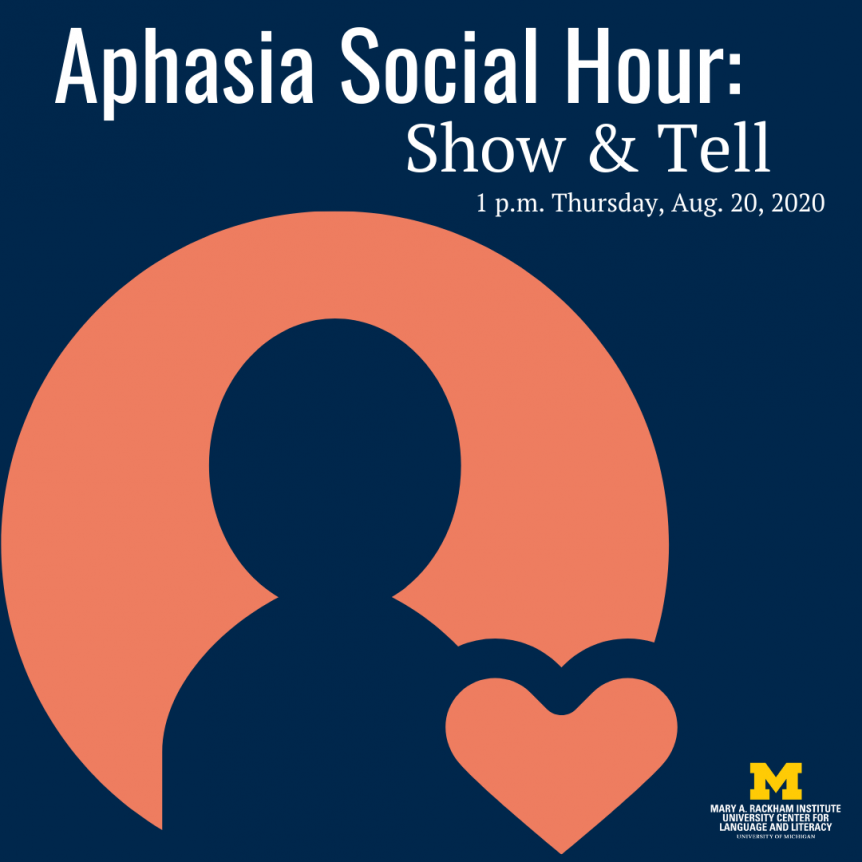 Aphasia social hour favorite things Aug 2020