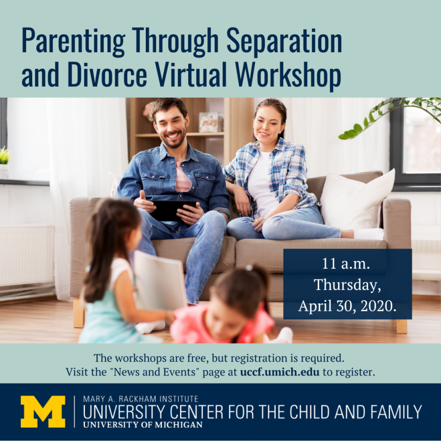 Virtual Parenting Through Separation and Divorce Workshop